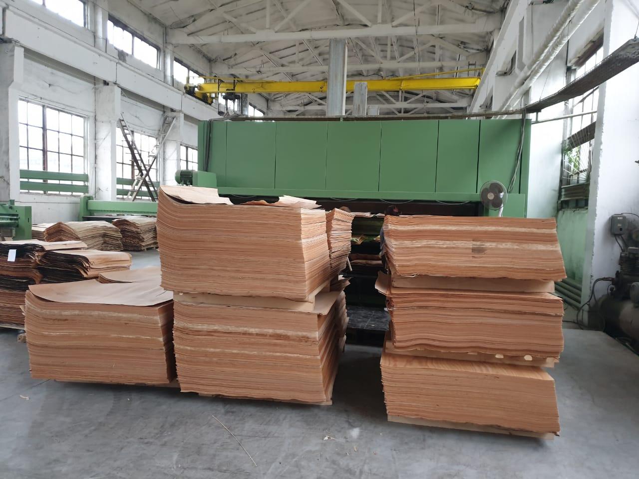 wood veneer drying